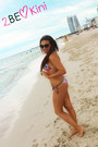 Hot-pink-2bekinis-swimwear