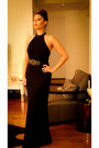 Black-ralph-lauren-dress-black-bcbg-belt