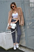 heather gray Front Row Shop pants