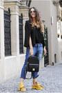Black-nissa-bag-dark-gray-miu-miu-sunglasses-yellow-jessica-buurman-sandals