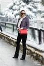 Black-jessica-buurman-boots-red-michael-kors-bag-black-prada-sunglasses