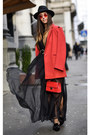 Red-nissa-dress-red-meli-melo-sunglasses