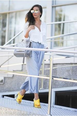 silver Kendall  Kylie bag - silver Shopbop pants