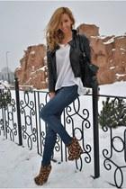 black OASAP jacket - Topb2c boots