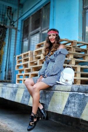 black Shopbop shoes - black Lovers  Friends dress
