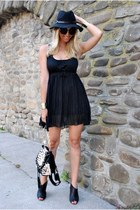 black Yesfor dress - black VESSOS bag