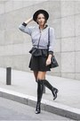 Black-shopbop-boots-black-kraxy-rabbit-jacket-black-dkny-bag