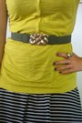 Black-striped-converse-one-star-dress-mustard-ana-shirt