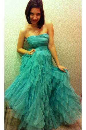 aquamarine NafNaf dress