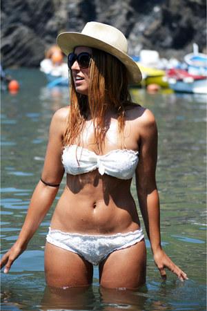 cream Oysho swimwear