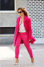Hot-pink-only-coat-hot-pink-easy-wear-jeans-cream-zara-bag