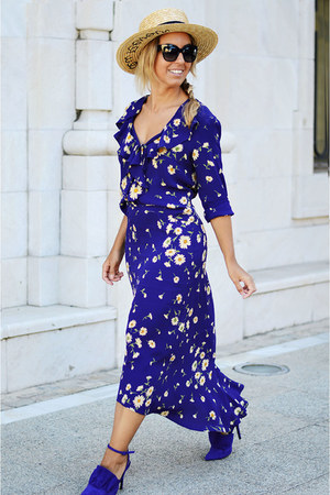 deep purple VINTAGA skirt