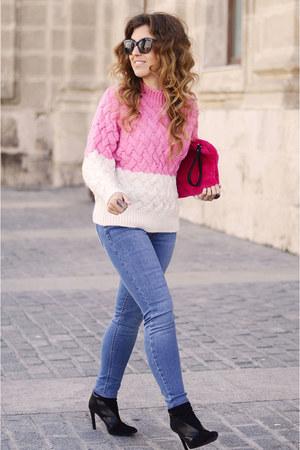 bubble gum Mango sweater