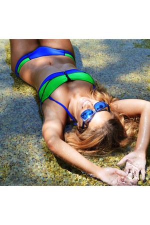 green Fórmula joven swimwear