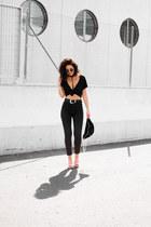 Lorena Subires bag - H&M heels - Newchic bra - pull&bear pants