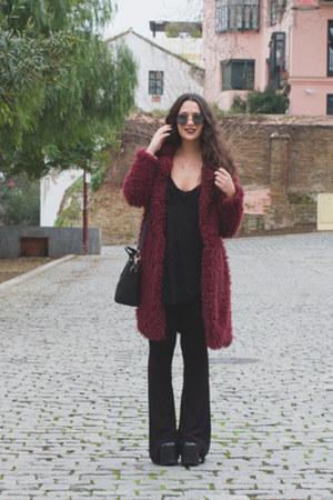 Primark coat - Marypaz bag - DressLink sunglasses