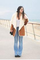 pull&bear coat - H&M jeans - pull&bear sunglasses
