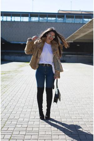 Marypaz boots - pull&bear jeans - Primark belt