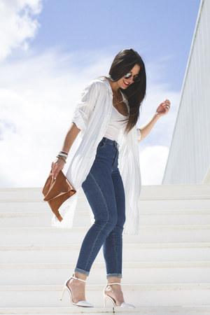 pull&bear shirt - Zara heels