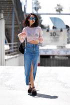 Happiness Boutique necklace - Lorena Subires bag - Marc Jacobs sunglasses