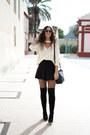 Marypaz-boots-sheinside-sweater-pull-bear-skirt