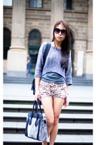 charcoal gray new look sweater