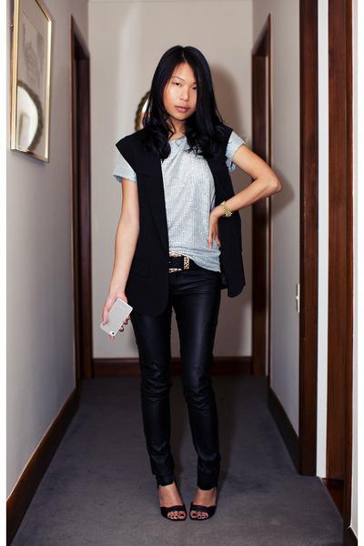 Topshop pants - Alexander Wang heels