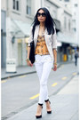 Ivory-h-m-blazer-black-bag-black-jeffrey-campbell-heels-orange-joie-top