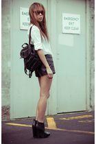 black sam edelman shoes - white Schwing schwing shirt