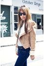 Brown-shoes-beige-vila-jacket