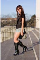 boots - vest - accessories
