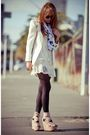 Pink-topshop-shoes-white-modcloth-scarf
