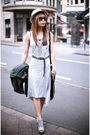 Silver-modcloth-dress-green-modcloth-jacket-white-jeffrey-campbell-shoes