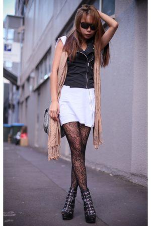 black Topshop shoes