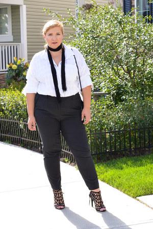 Old Navy shirt - Addition Elle pants