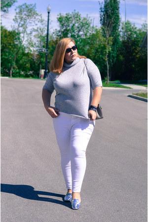 Old Navy jeans - Chloe bag - Zara loafers - Simons top