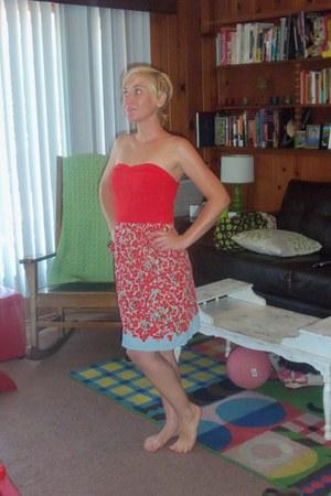strapless xhilaration dress