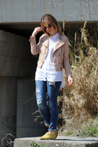 light pink OASAP jacket