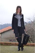 camaieu coat - Zara boots