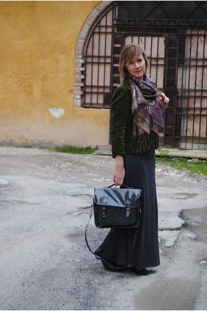 vintage blazer - pimkie skirt