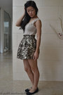 Beige-bodysuit-azuki-bodysuit-gold-skirt-la-petite-mademoiselle-skirt