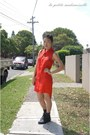 Gray-boots-roc-boots-boots-red-shirt-dress-the-cassette-society-dress