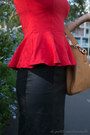 Tan-bag-sterling-hyde-bag-red-top-glassons-top