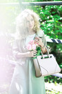 Eggshell-stradivarius-jacket-light-pink-reserved-bag-lime-green-oodji-skirt