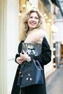 Black-asos-coat-white-marc-jacobs-skirt