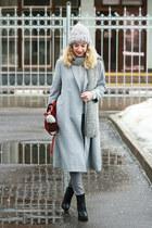 silver Dressin coat