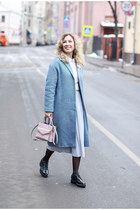 light pink Rebecca Minkoff bag