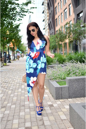 romwe dress - Shoedazzle heels