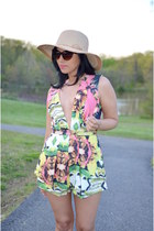 Sheinside dress - Macys hat