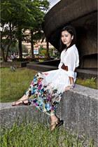 Guess blouse - coco cabana dress - Primadonna belt
